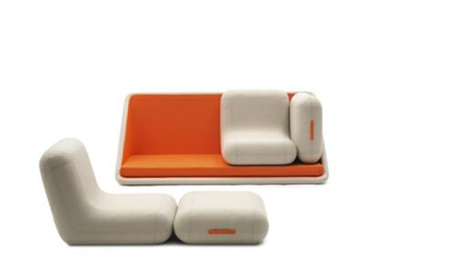 orange designer sofa weich varianten gebrauchen