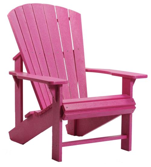 relax stuhl im garten sofa holz pink rücklehne