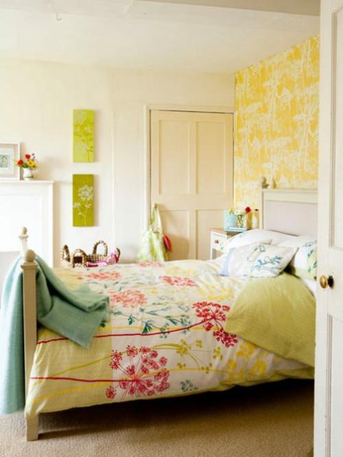 download schlafzimmer romantisch verspielt | sohbetzevki.net - Vintage Schlafzimmer Einrichten Verspielte Blumenmuster Als Akzent
