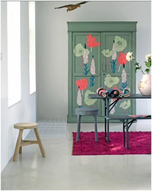 Design schrank holz  22 Schöne Blumen Details zum Interior Design hinzufügen - Coole Deko