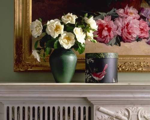schöne frische blumen vasen rosen bilderrahmen klassisch