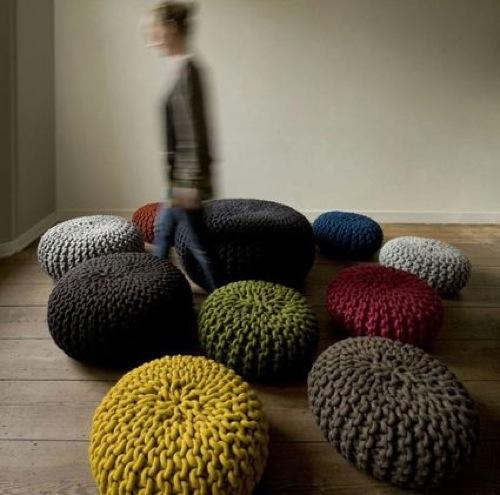 coole gestrickte designer möbel von monomoka von hand gefertigt, Möbel