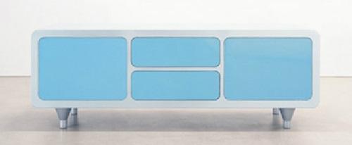 schicke moderne designer kommoden blau weiß farben