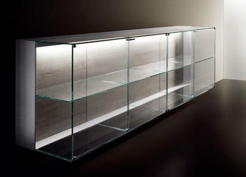 coole designer sideboards kommoden gläsern regale