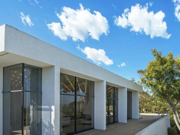 schicke residenz in kaliforninen minimalistisch modern