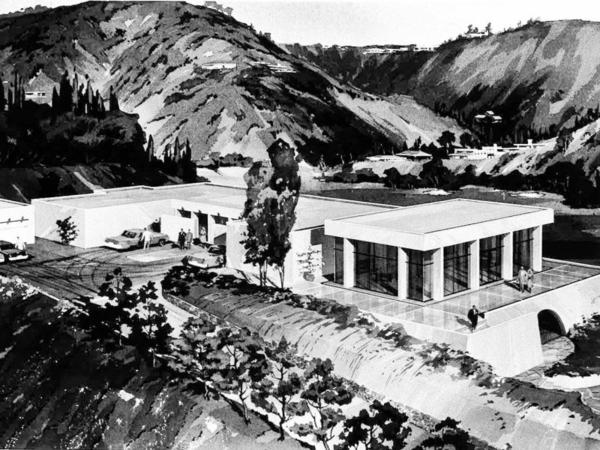wohnung in kalifornien weiß schwarz architektur