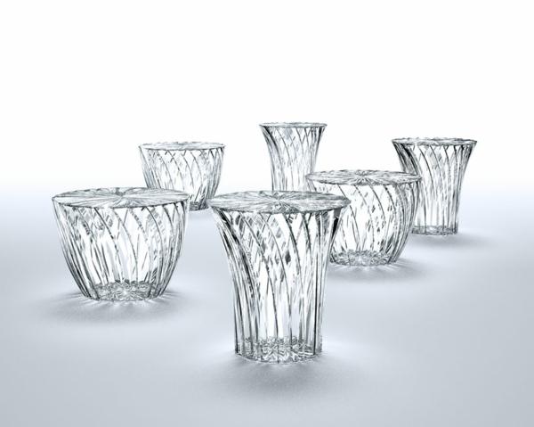 strahlendes glas design asiatisch stil gestalter kartell