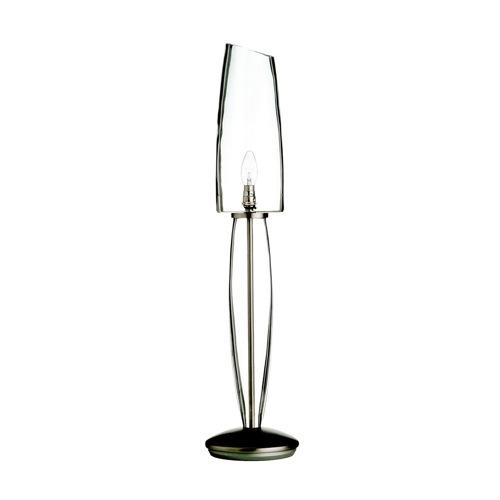 durchsichtige möbel designs  aus glas stehlampen