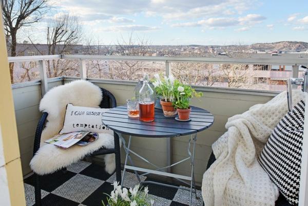 trendy apartment balkon kompakt idee design