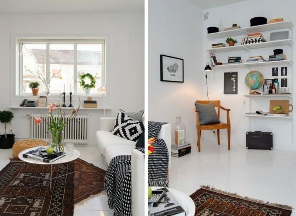 trendy apartment design originell zeitgenössisch
