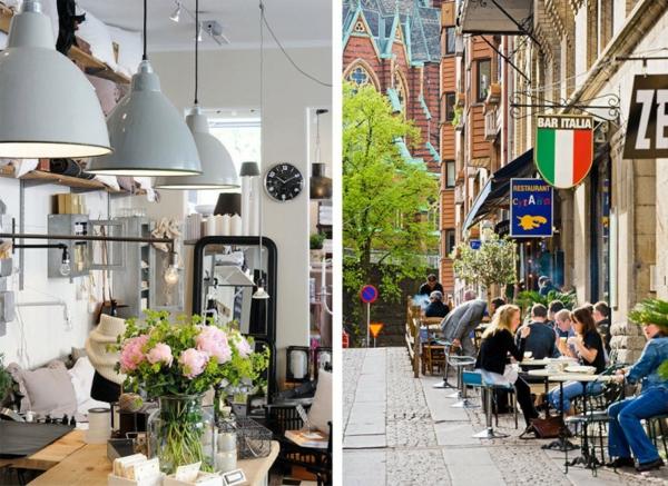 trendy apartment platz cafe italien bar