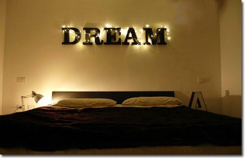 vintage zeichen im interior verwenden leuchtend träumen