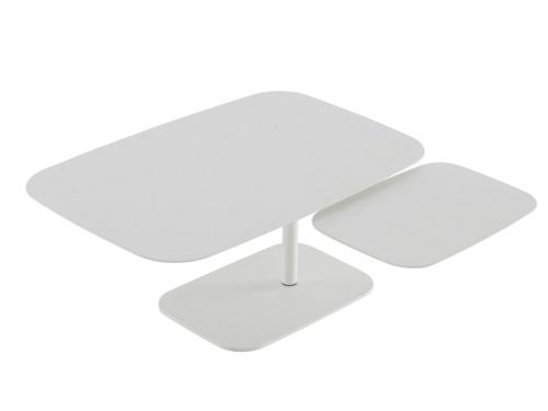 weiß kaffee tisch design roberto paoli drei platten