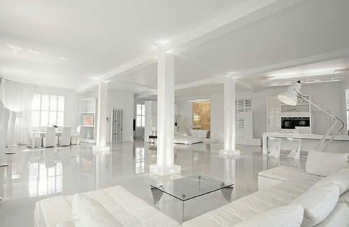 weiße interior design ideen studio glanzvoll immobilie