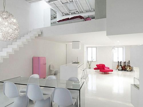 kreative interior design ideenstudio glanzvoll tisch treppe