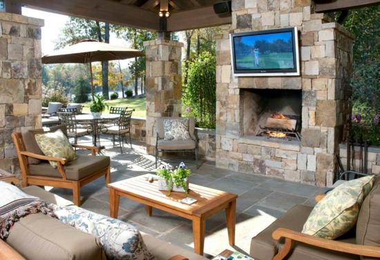 Wohnbereich im garten gestalten herrliche sitzecken im freien Home garden tv