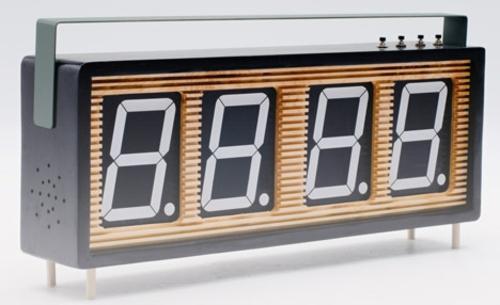 Countdown Stoppuhr Design Wohneinrichtung dekoration