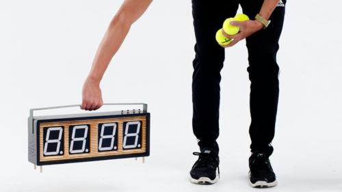 Countdown Stoppuhr Design Wohneinrichtung idee originell