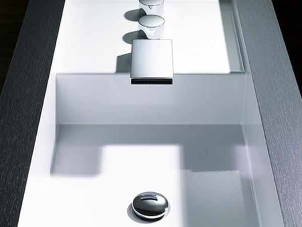 Modulare Badezimmer Möbel Coole Einrichtung Waschbecken Quadratisch