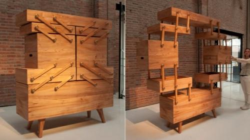 designer schrank aus holz orion sternbild designer schrank aus holz orion erinnert an das. Black Bedroom Furniture Sets. Home Design Ideas