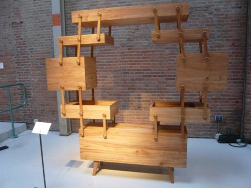 Design schrank holz  Nähkasten Schrank Design von Kiki van Eijk - originell und praktisch