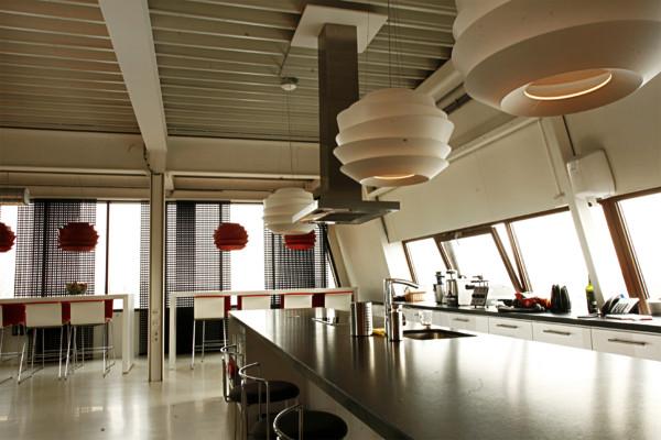 Originelle Pendelleuchten Designs im Esszimmer gemütlich küche