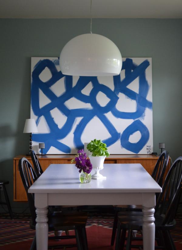 Originelle Pendelleuchten Designs im Esszimmer halbkreis weiß
