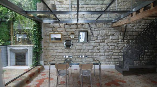 Renovierte Maisonette Wohnung Herzen Paris eigenartig attraktiv