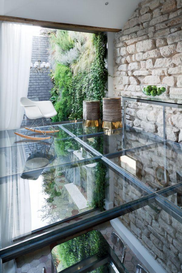 Renovierte Maisonette Wohnung Herzen Paris schaukelstuhl