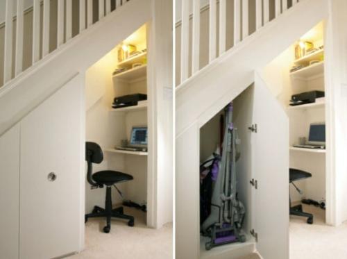 Sch ne praktische lagerraum ideen unter der treppe for Abstellraum ideen