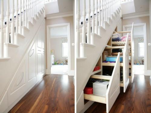 Schone Praktische Lagerraum Ideen Unter Der Treppe