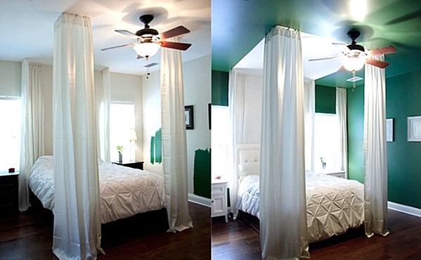 Schlafzimmer modern grün  Schlafzimmer orange grün ~ Übersicht Traum Schlafzimmer