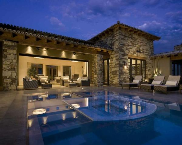 Aktuelle Haus Design Trends Innovationen Dieses Jahr Pool Integriert