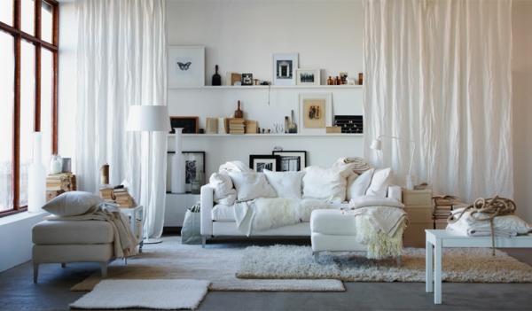 design : wohnzimmer weiß einrichten ~ inspirierende bilder von ... - Einrichtungsideen Wohnzimmer Weis