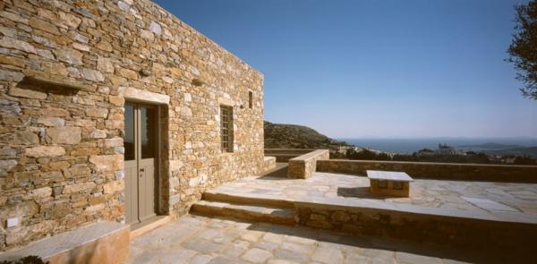 Haus Mit Steinfassade antikes designer haus mit moderner einrichtung myrto miliou