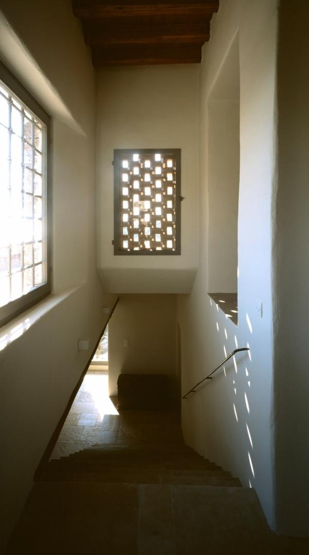 antikes designer haus stein baustruktur treppe