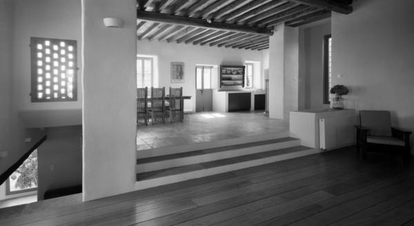 antikes designer haus stein baustruktur vintage esszimmer