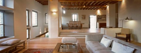 Antikes designer haus mit moderner einrichtung von myrto for Wohnzimmer 40 qm