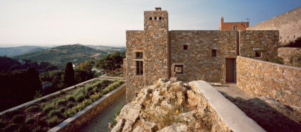antikes haus design idee rustikal stein fassade