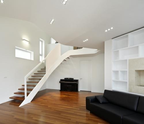 attraktives wei es designer haus in s dkorea gelegen. Black Bedroom Furniture Sets. Home Design Ideas