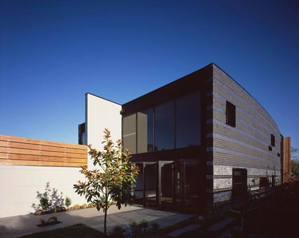 australisches doppelhaus design von bkk architects. Black Bedroom Furniture Sets. Home Design Ideas