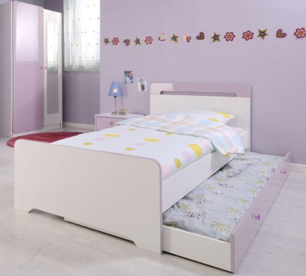 ausziehbare hochbetten im kinderzimmer 24 originelle ideen. Black Bedroom Furniture Sets. Home Design Ideas