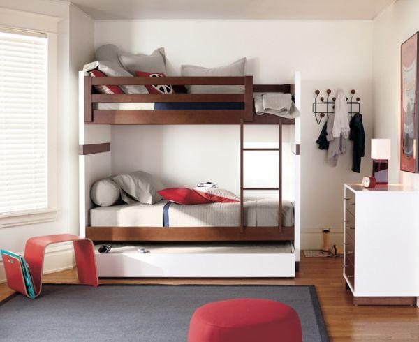 Ausziehbare hochbetten im kinderzimmer 24 originelle ideen - Kinderzimmer modern ...