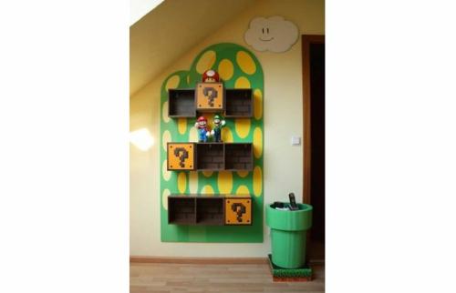 Kinderzimmer Dekoration Mit Superhelden Motiven Aus Den