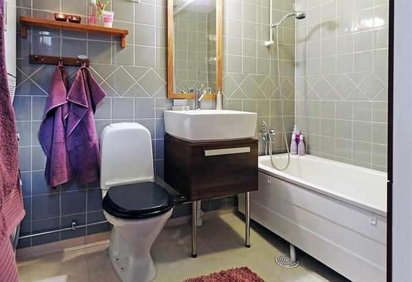 badezimmer interior design ideen glaswände extravagant badetücher
