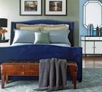 10 blaue Schlafzimmer Möbel – elegante, feminine Atmosphäre