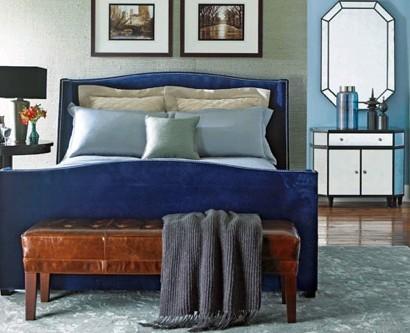 10 blaue schlafzimmer m bel elegante feminine atmosph re - Elegante schlafzimmer ...