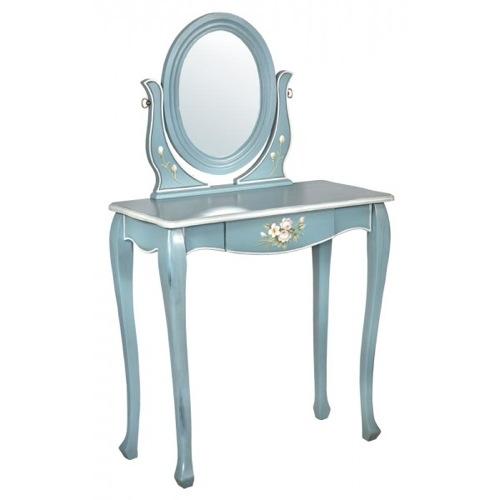 schlafzimmer möbel klassisch schminktisch spiegel