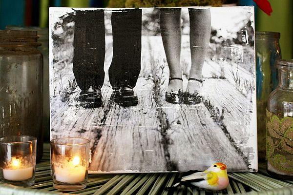 Uberlegen Coole Leinwand Fotogalerie Selber Machen Kerzen Anzünden Erinnerung