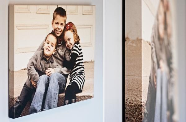 coole leinwand fotogalerie selber machen deko ideen. Black Bedroom Furniture Sets. Home Design Ideas